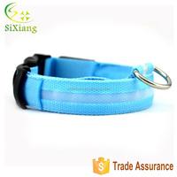 Wholesale Waterproof blink flashing LED dog collar, LED Dog Leash
