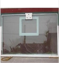 8.38mm laminated tempered glass for basketball backboard