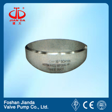A234 wpb stainless steel domed end cap with CE certificate