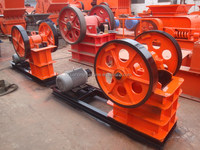 Professional manufacturer mobile small stone jaw crusher