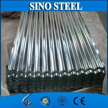 Galvanized corrugated metal roofing sheet for shed