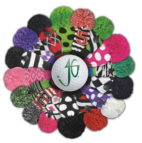 Free Knitting Pattern Golf Club Headcovers : acrylic free knitted pattern golf club cover, View golf club cover, Green Gra...