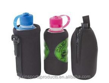 customed portable various kinds insulated fashionable eco-friendly neoprene water single bottle/can cooler