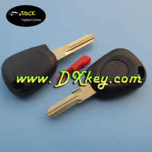 Factory price transponder key blank with light and red plug for key renault renault key case