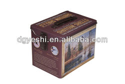 welcome customize lunch Tin box
