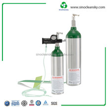 2.0L Small Gas Cylinder for Portable Oxygen Cylinder