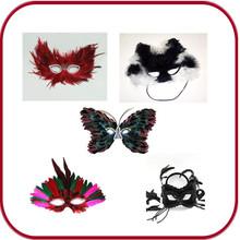 Mini masquerade mask , cat mask ,handmade butterfly mask PGAC-0649