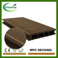 Wood plastic composite prefab deck kits