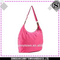 Simple cheap nylon foldable shopping bag