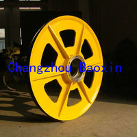 cast iron sheave pulley,high quality sheaves made by baoxin in changzhou