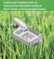 lightweight handheld measure plants leaves Chlorophyll Meter Tester