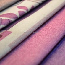 cheap printed burnout velvet fabric for sofa