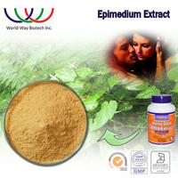 Epimedium extract Icariin,free sample HACCP Kosher FDA horny goat weed powder icariin 20% 40% 60% 80% 98%
