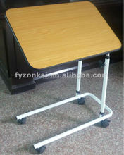 Hospital Wooden top hospital side bed table