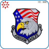 Custom irregular Eagle patch embroidery