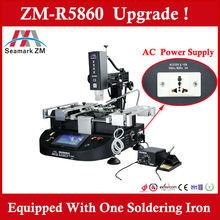 2015 bga rework station ZM-R5860 bga welding machine ,three hot air high precision