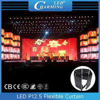 flexible screen oled in LED displays rgb IP65 video player