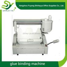 professional binder gluing machine