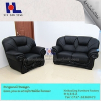 #964 couch in 1+2+3 style living room leather sofa