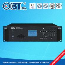 OBT-9000 Control Zone/Time/Place/Source Public Address PA Programmer for Shcool,University,Compus