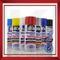 Iso9001 eco- ambiente de usos múltiples de color pinturas en aerosol para los modelos de plástico