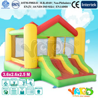 New Style Inflatable Bounce House Pretty Bouncy Castle