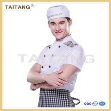 Hot sale classic durable hotel and restaurant chef uniform