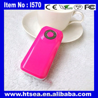 new product 2014 souvenir consumer electronic portable panel charger 5600 5200 mobile power bank for asus zenfone 6