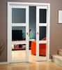 Good look low price wooden sliding door, solid wooden door