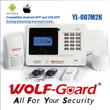 Motion detecting GSM alarm system for home security protect and burglar alarm.