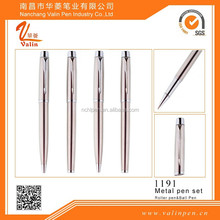 Champagne color graceful metal pen rollerball pen & ballpoint pen