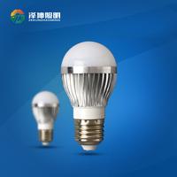 Factory directly 2 years warranty 7W aluminum led bulbs 3200K 6500K SMD5730 led screw type zhongshan lamps