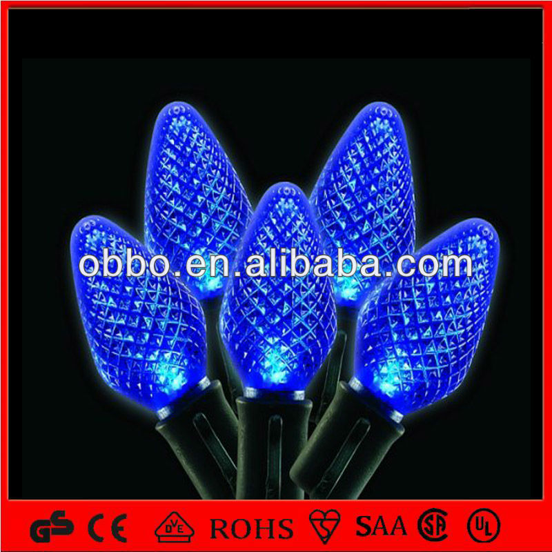 Led Christmas C7 String Lights Pvc Cable C7 Light Chain - Buy High Quality C7 Led String Light ...
