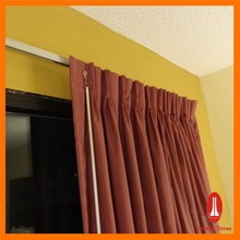 Curtain Times newest luxurious curtains with valance from guangzhou electric curtain factory