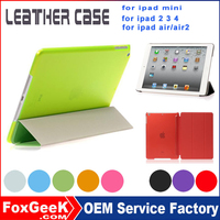 2015 new products pc case in china tablet cover for ipad air 2 leather case unbreakable protective case for ipad mini 2 3
