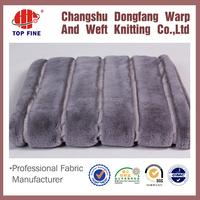 2015 hotsell heavyweight patterned jacquard garment knit fleece fabric