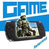 4.3 inch pmp game mp5 player, games consoles,portable mp5 game player