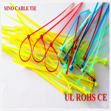 reusable nylon cable tie releasable type ROHS CE approved 100% new nylon 66