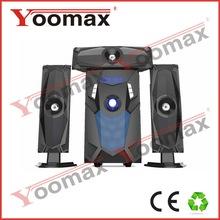 3.1 speaker system high power,sea piano home theatre USB SD FM