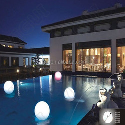 IP68 waterproof floating led pool balls for decoration/swimming pool/event/party