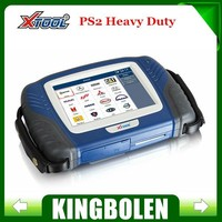2015 New Diesel scanner tool PS2 Truck tools Autoscan Xtool original PS2 Heavy Duty diagnostick tool update on official website