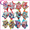 Wholesale Frozen Hair Bow School Teenage Boutique Frozen Hair Bow For Girl Hair Accessories CNHBW-1409509