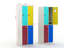 2015 4 Doors Combination Lock Multicolor Lockers For Middle East