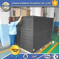 1220x2440mm black custom cut foam sheet/panel