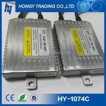 Hot sell Slim Instant start HID ballast F5/F7 model 12V 55W/75w Fast bright HID ballast