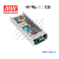 HSP-300-5 300W 5V 60A Mean well PFC color waterproof ultra-thin switch power supply