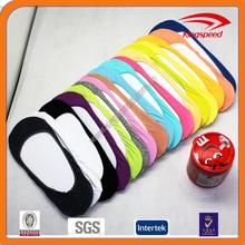 2015 New cotton lycra women anti-slip boat invisible custom socks