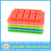 Popular food grade ice cube moulds made by silicone material