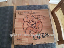 Low Price Recycled Paper Pizza Box Manufacturer/E-flute corrugated pizza boxes manufacturing/