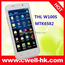 Low Price THL W100S MTK6582M Quad Core Smartphone THL W100 Upgraded Version